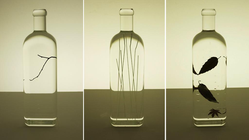 Rain Bottle de Nendo pour Words / Maison&Objet 2014