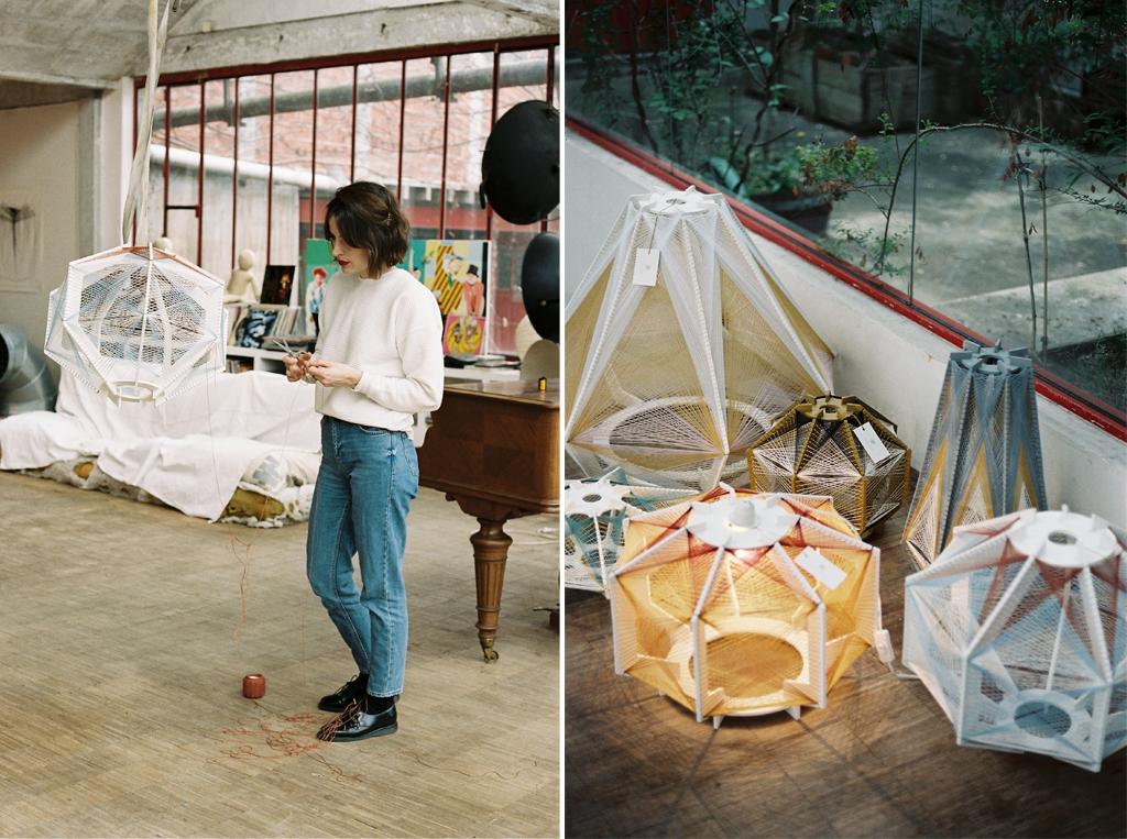 Sputnik, les lampes design de Julie Lansöm
