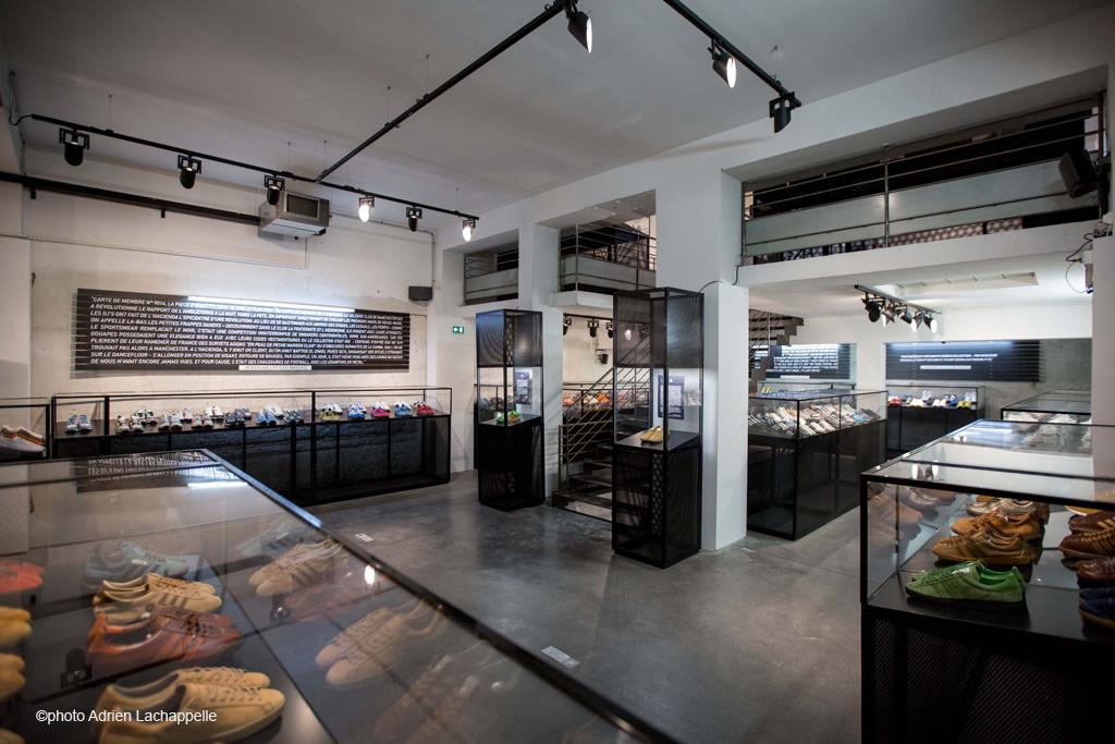 Spezial à Paris L'histoire incomplète d'Adidas racontée par ses fans novembre 2014