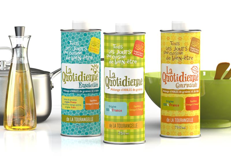 Huile La Quotienne - Salon international de l'Alimentaire - revue consommation