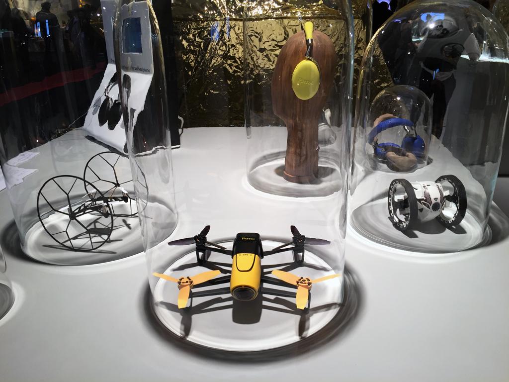 Techno Made - Salon Maison & Objet Paris 2015 - drone
