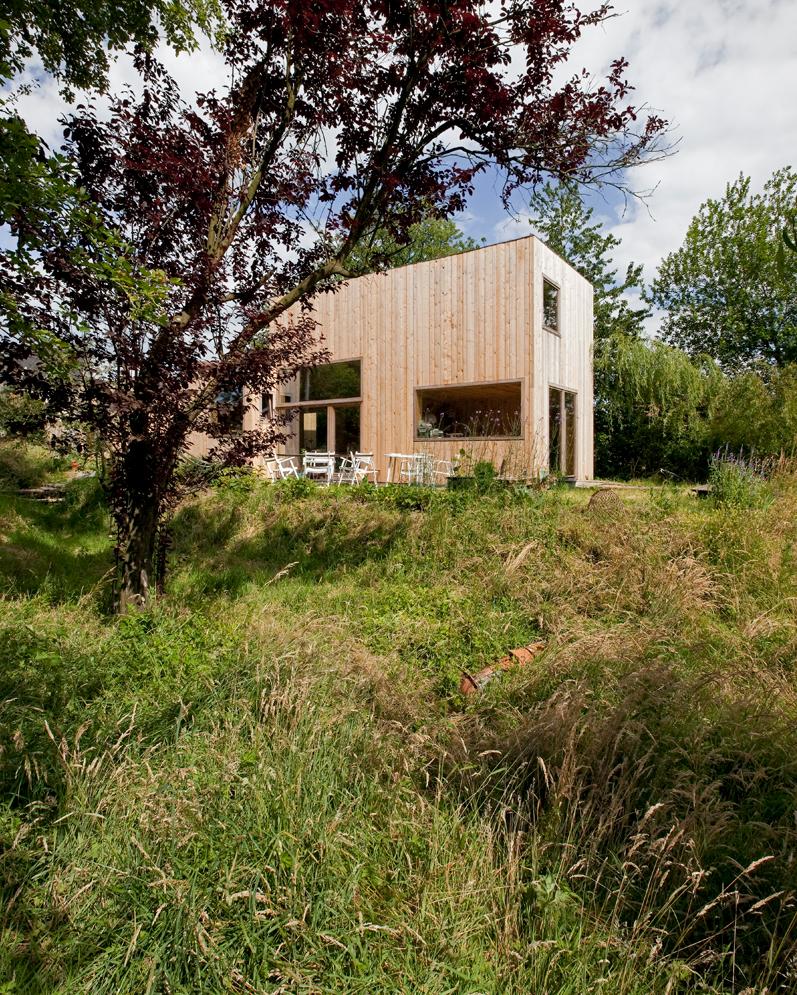 14 Façades, le travail du bois du bureau d'architecture design M-Architecture