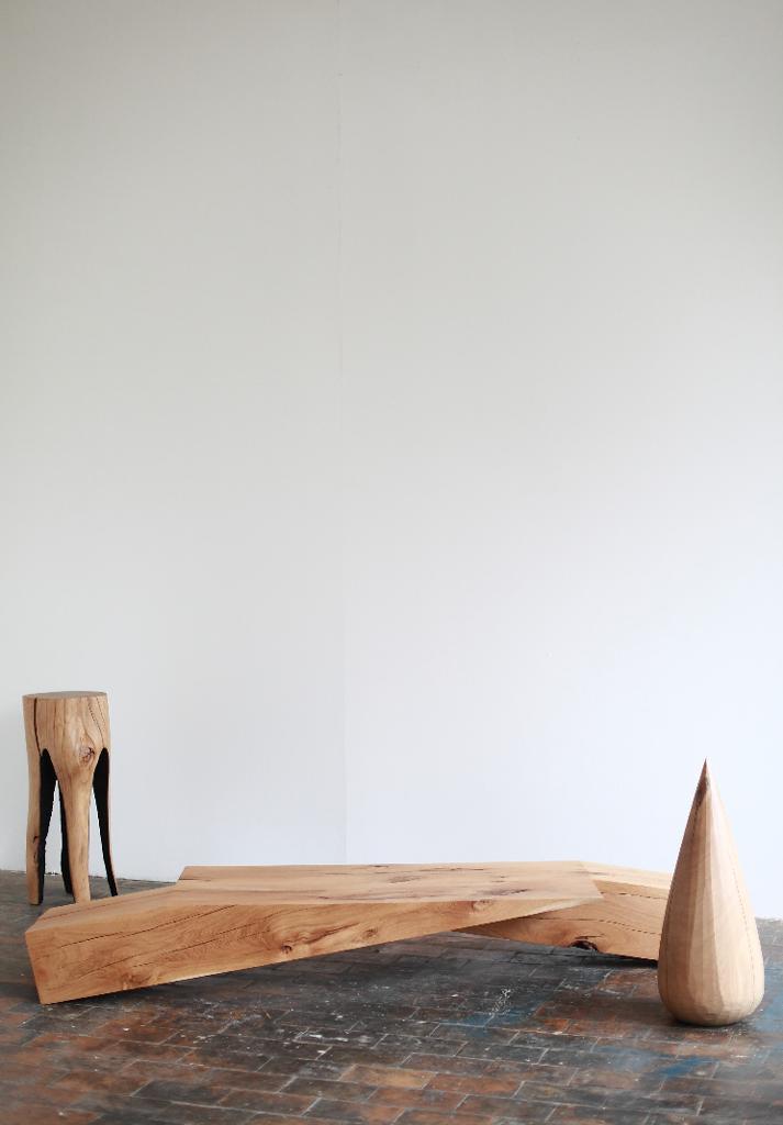 Le travail du bois du designer Kaspar Hamacher