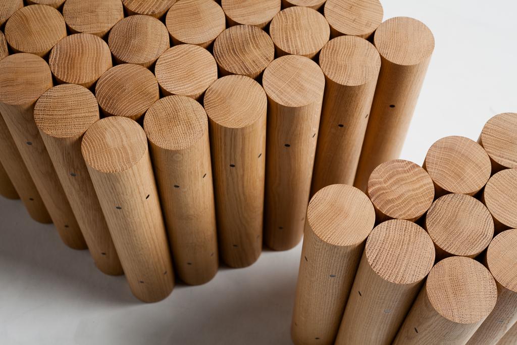 Multiple Classic, travail du bois par le designer Raphaël Charles