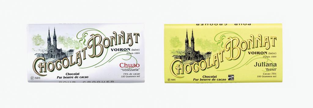 Chocolat : autant de packagings que de discours de marques - Bonnat