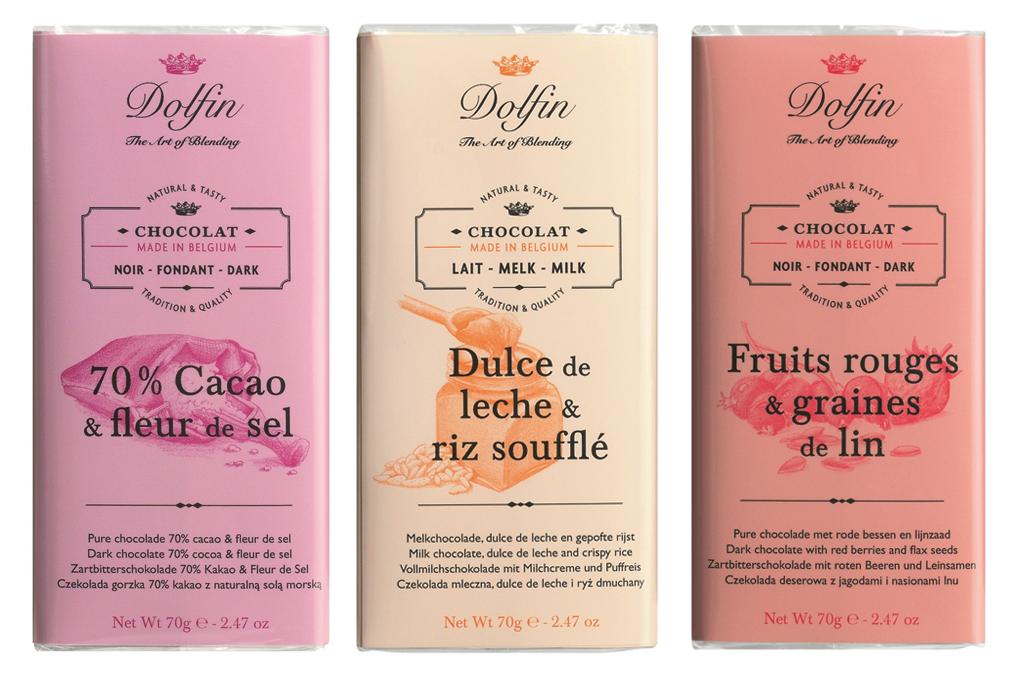 Chocolat : autant de packagings que de discours de marques - dolfin