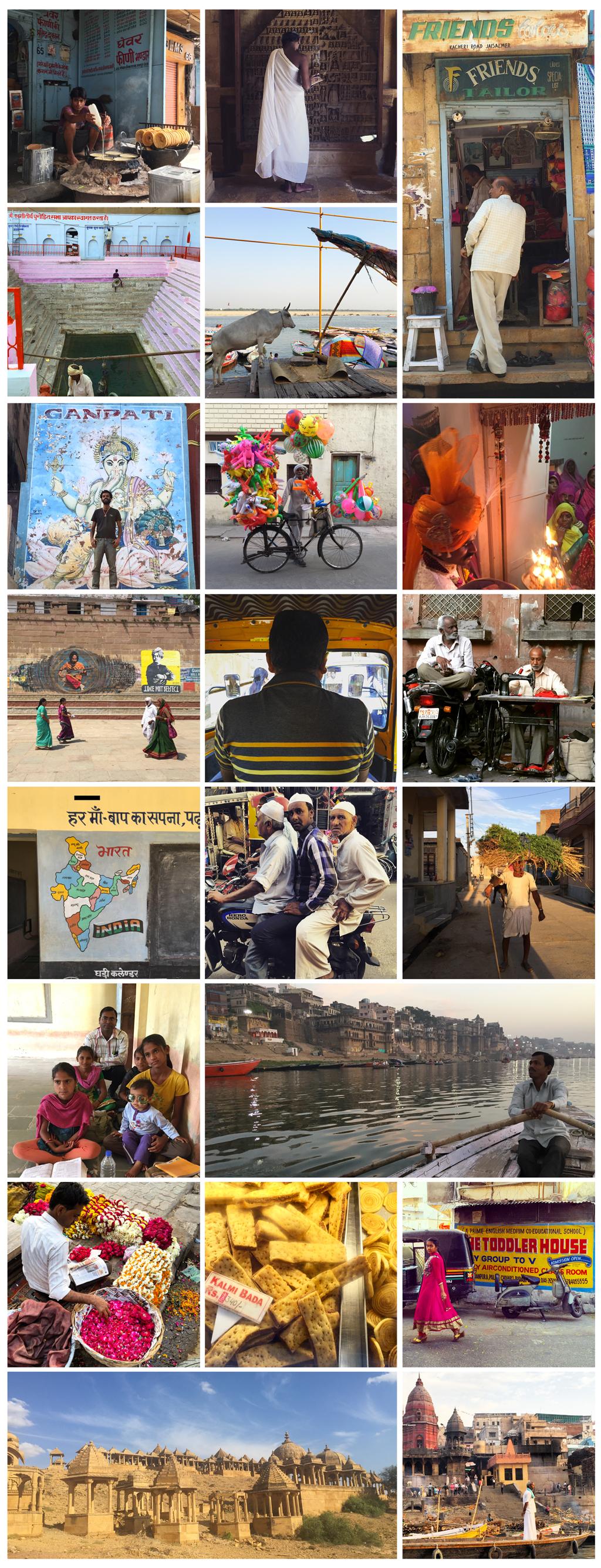 Voyage en Inde et photo d'ailleurs
