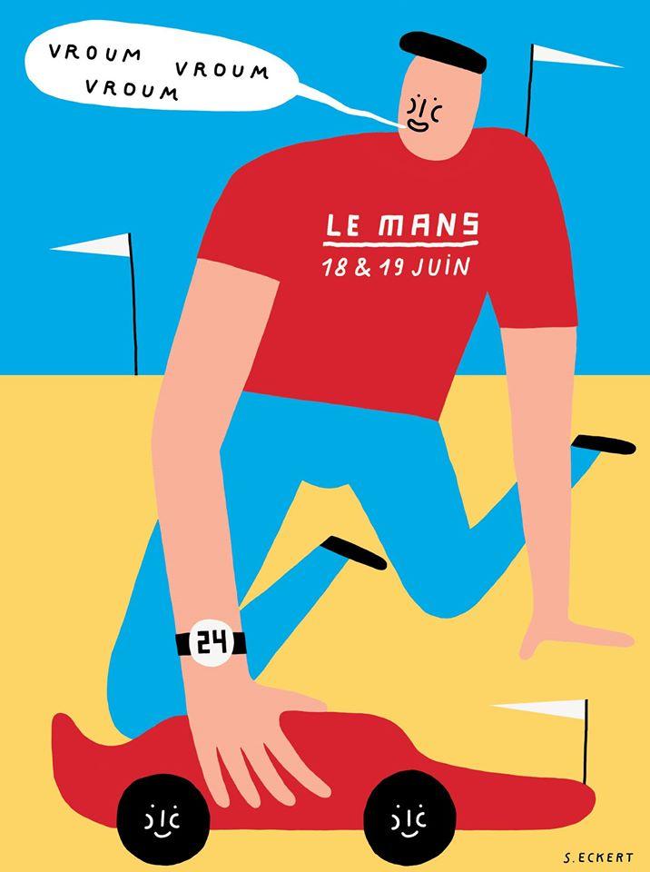 Les affiches publicitaires illustrées