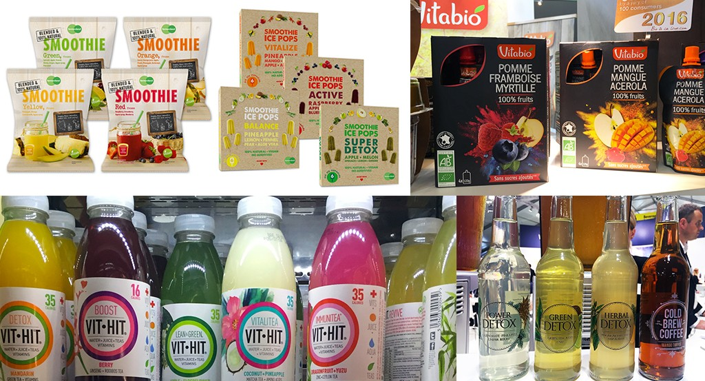 L'avenir du food : le SIAL et les tendances alimentaires décryptées avec le succès du fruit en jus detox, compotes, smoothie, ect...
