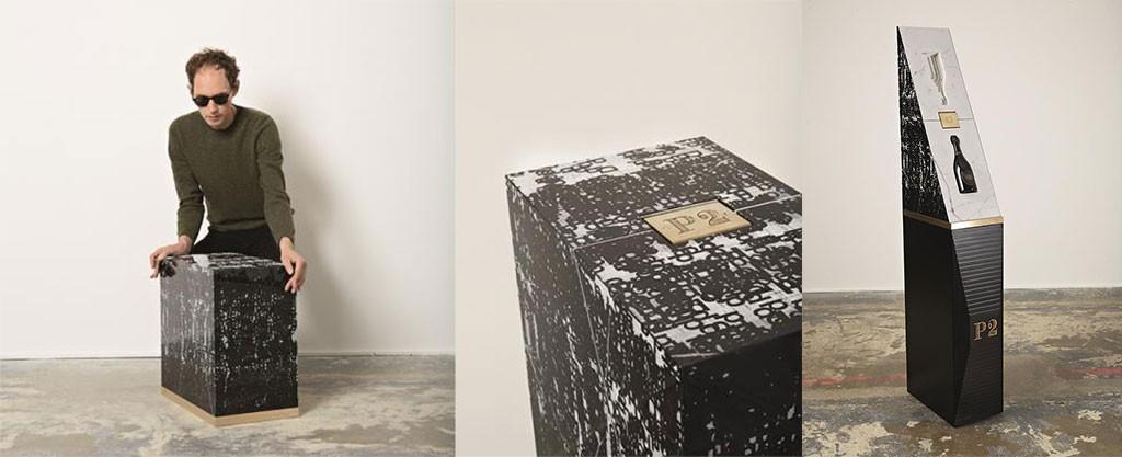 Michael Riedel pour Dom Perignon : de l'art packaging qui transforme la marque en mecene