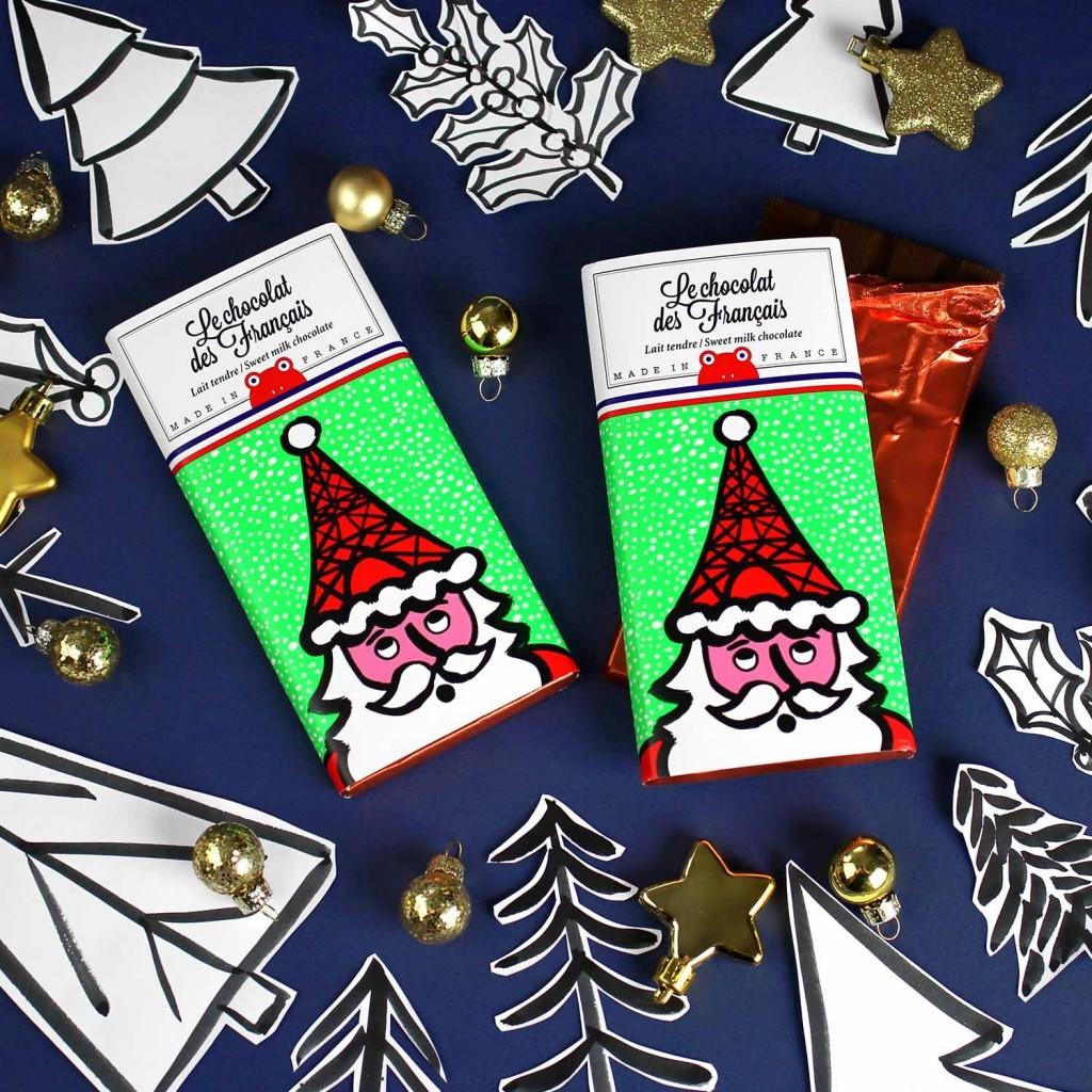 Le Père-Noël Le Chocolat des Français