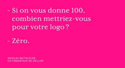 Quand on parle branding aux startups…