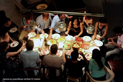 Du social dining au click and eat